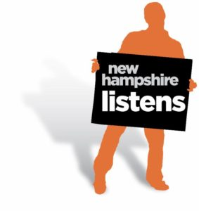 NH Listens Logo